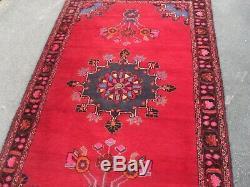 ancien grand tapis vintage antique laine de tapis ian pers 197cm 122cm