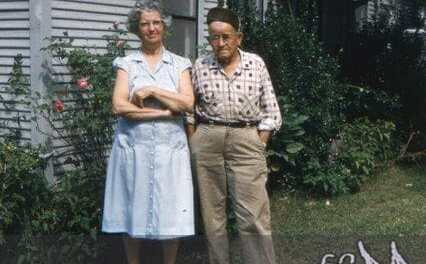 Grandma and Grandpa KodaChrome Slide Scan