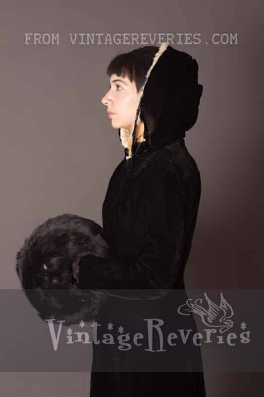 1800s winter outfit