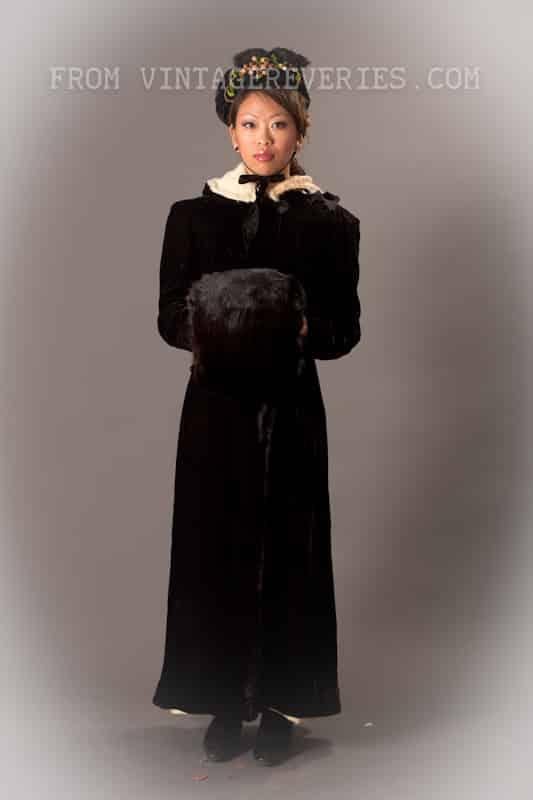 1890s winter fashion