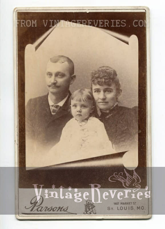 turn of the century family photography st louis