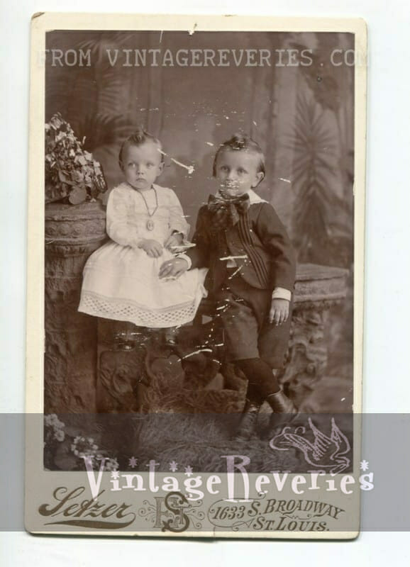 turn of the century childrens photography