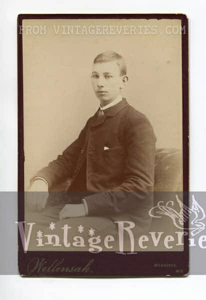 turn of the century formal portrait