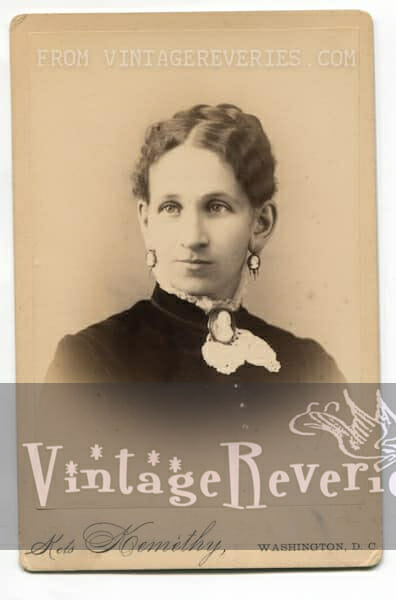formal portrait of a young woman