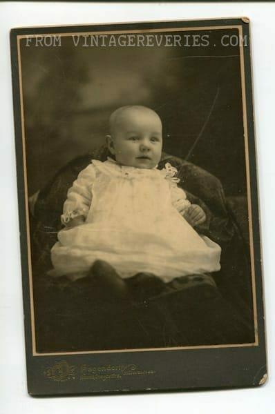 1880s baby photo