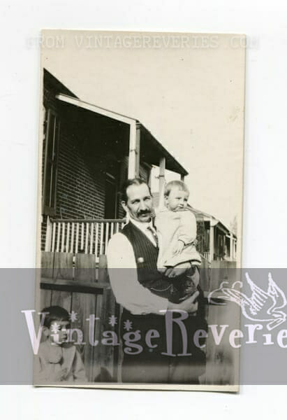 father and children