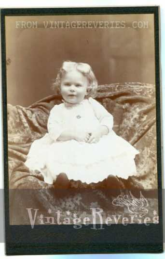 early 1900s baby girl