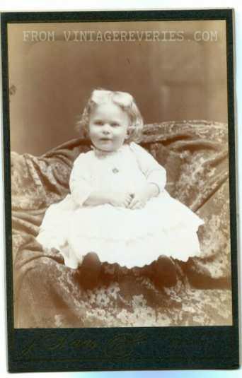 early 1900s baby girl