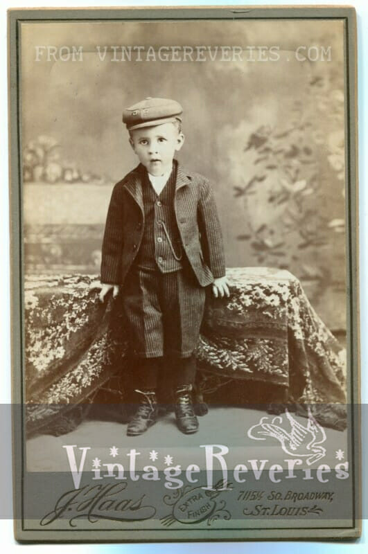 Turn of the century Children's photos – from 1906