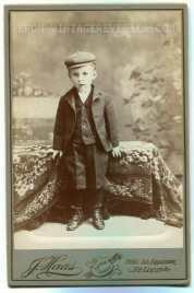 early 1900s boy