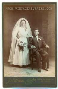 1890s wedding dress photo