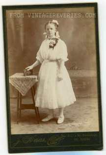 schoolgirl photography 1890s St. Louis