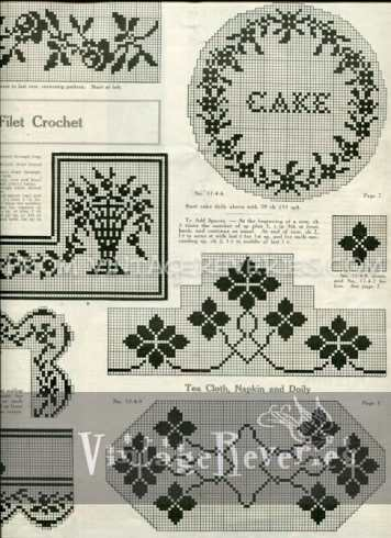 Doily, scarf, and pincushion embellishment patterns