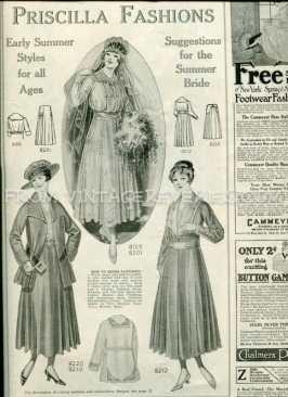 edwardian wedding dress fashions
