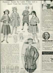 1917 girl fashions