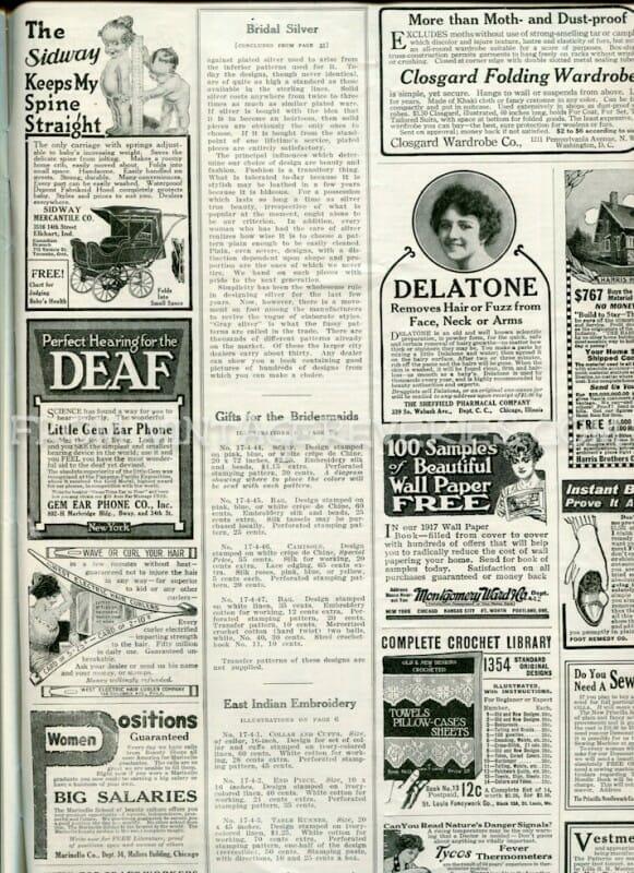 old magazine ads