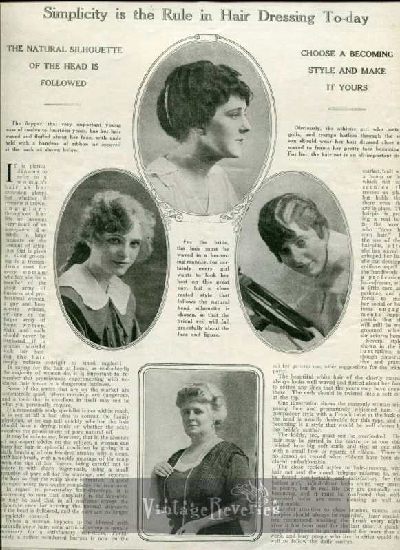 edwardian hair fashions