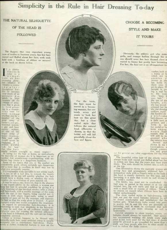 edwardian hair fashions
