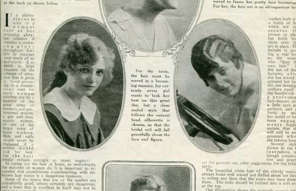 Summer 1917 Hair Styles – and the last of the April 1917 scans