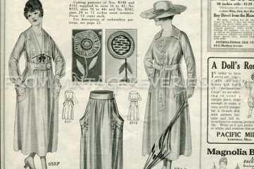 1917 womens sports fashions
