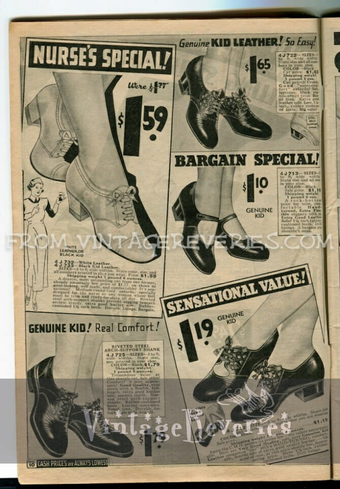 1930s shoe advertisement