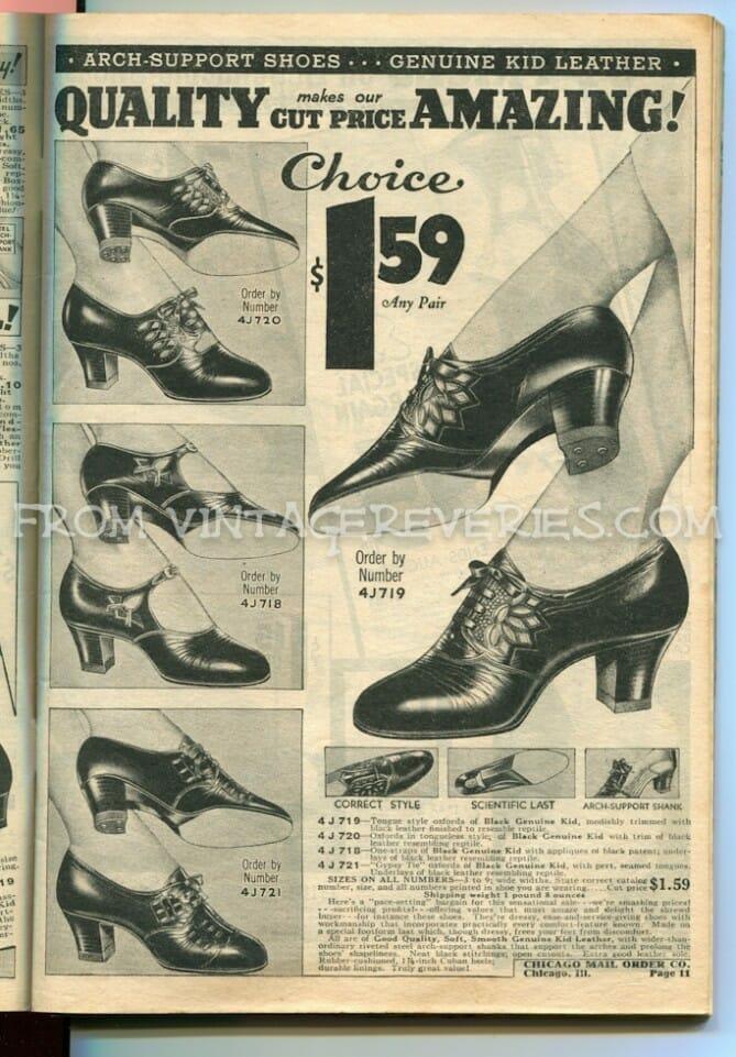 1930s high heels