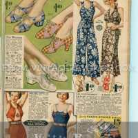 1935 Wool Bathing Suits, Women's Sportswear, and Mens' Underwear...
