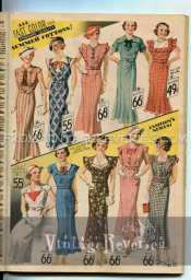 1935 Dress fashions