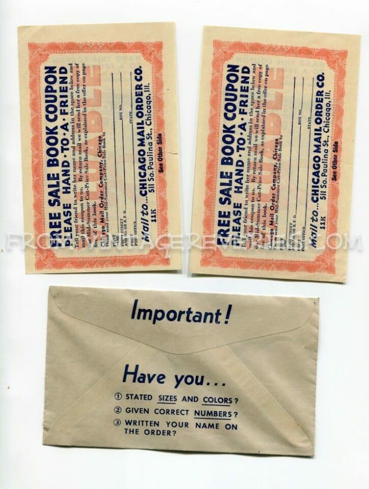 1930s catalog marketing