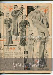 1930s fashion advertisements