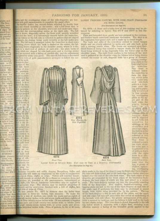 1890s womens coat fashion