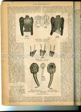 Amy Robsart Sleeve - 1892 illustration