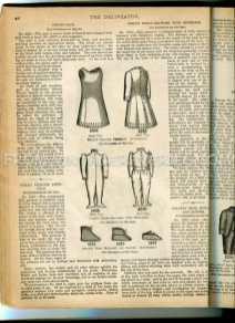 1892 childrens fashion illustration