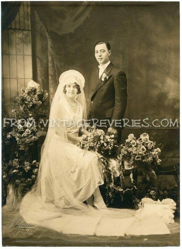 1912 Wedding Portrait