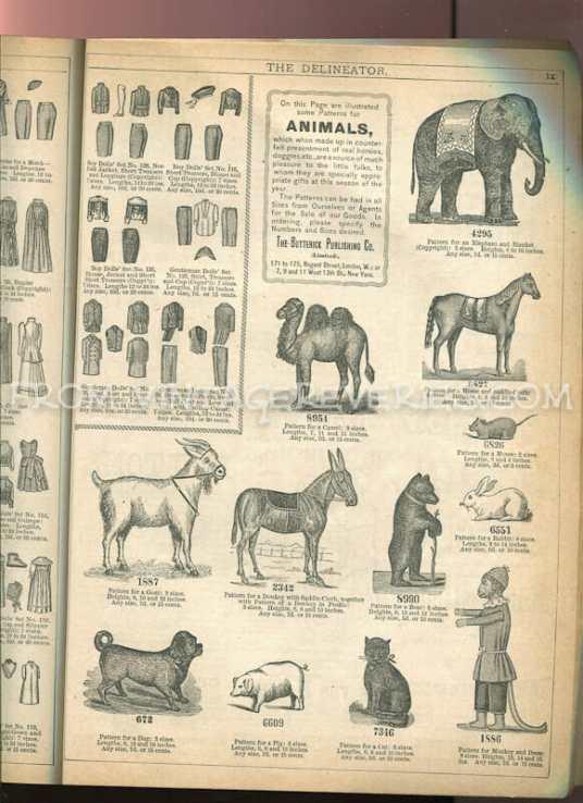Victorian toy advertisement