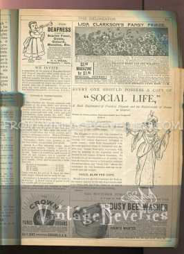 how to have a victorian social life advertisement