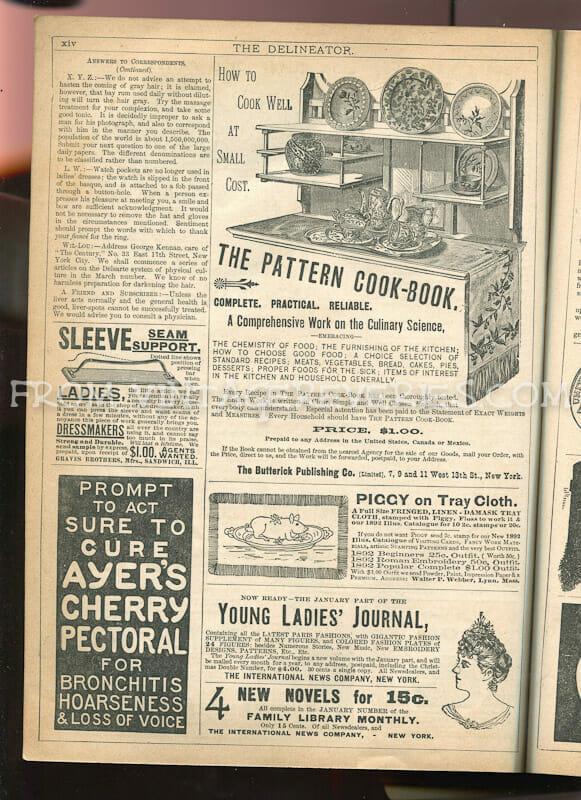 1890s advertisements