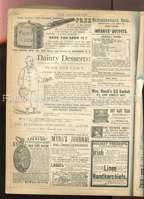 pocket watch advertisement