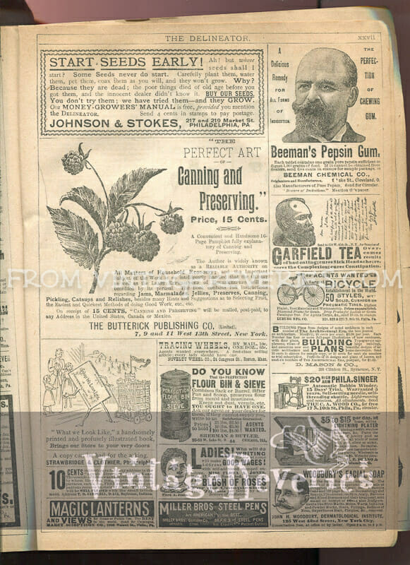 garfield tea ad