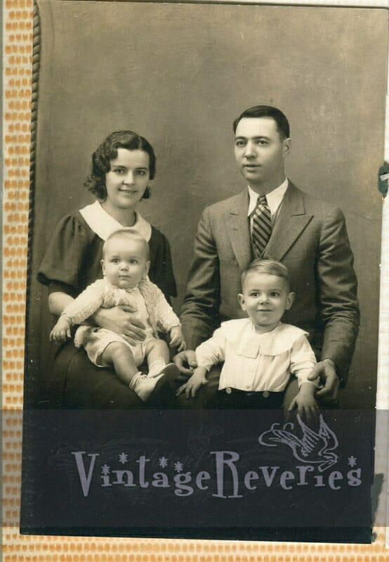 1930s nun and family photos