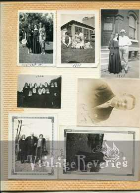 1930s photo album
