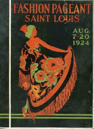 1924 St Louis Fashion Pageant magazine