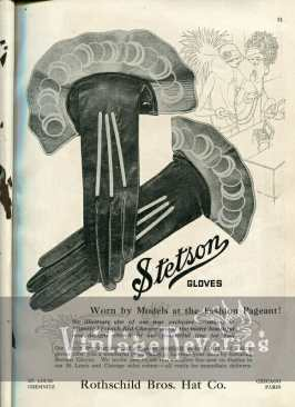 1920s stetson glove advertisement