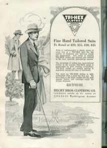1920s mens suit fashions