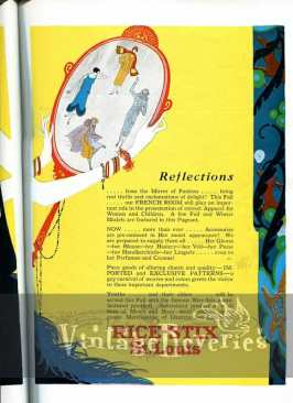 Rice-Stix St Louis fashion advertisement