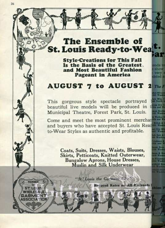 St. Louis Fashion Industry History