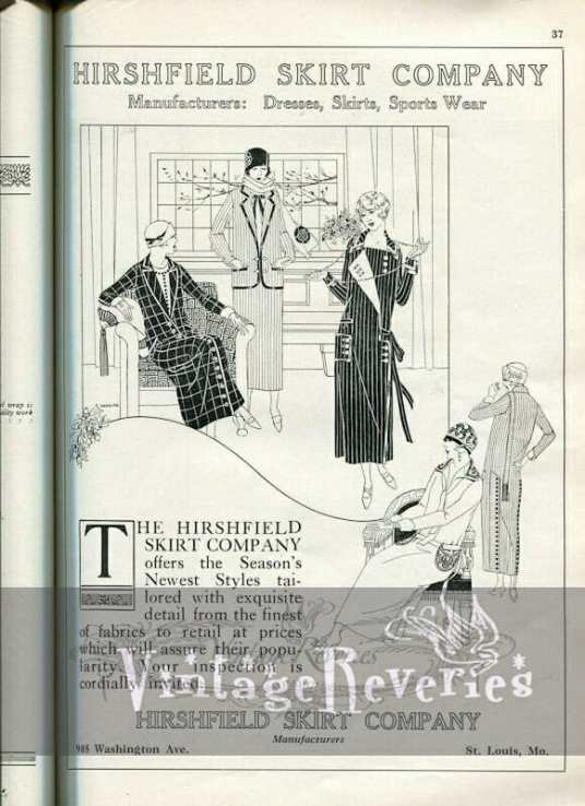 1924 fashion advertisement