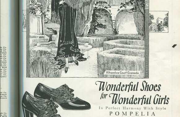 1920s Shoe Advertisement