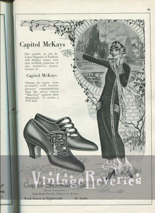 1924 McKays Shoes Advertisement
