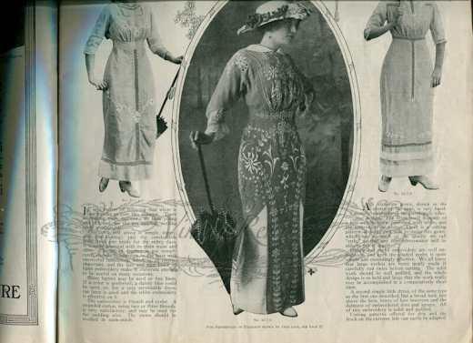 1913 summer fashions